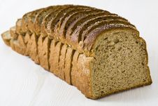 Loaf Of Rye Bread Royalty Free Stock Photos