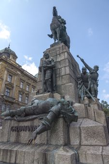 Free Grunwald Monument Royalty Free Stock Photography - 32276887