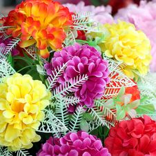 Free Artificial Flower Stock Image - 32277401