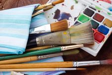 Free Painter S Tools Stock Images - 32278274