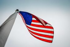 Free US/American Flag- Old Glory Royalty Free Stock Image - 32279396