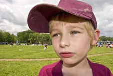 Free Young Handsome Baseball Player Royalty Free Stock Image - 32284456
