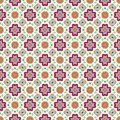 Free Geometric Flower Abstract Colorful Pattern On Stock Photo - 32295890