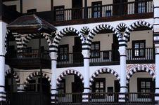 Free Closeup Orthodox Rila Monastery Royalty Free Stock Photos - 32291358