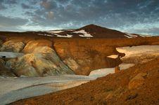 Free Krafla Volcano Royalty Free Stock Photography - 32295907