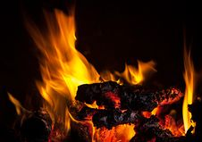 Free Fire Flames Stock Photography - 32299822