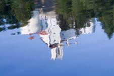 Free Reflection Of Castle Trakoscan Stock Photo - 3230090