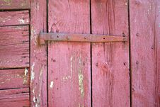 Old Door Hinge Royalty Free Stock Image