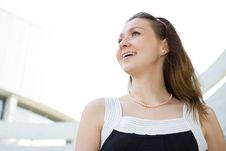 Free Young Woman Portrait Outdoor Stock Images - 3230884