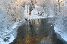 Free Winter River Stock Photos - 3231133