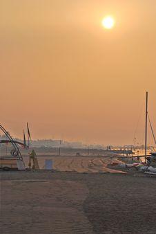 Free Morning Beach Stock Photos - 3231433