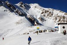 Free Winter Alpine Mountains Royalty Free Stock Photos - 3231468