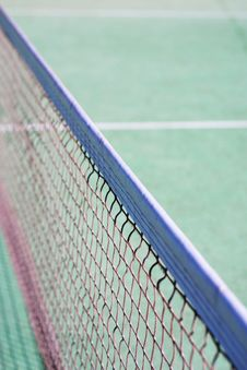Free Tennis Court Net Stock Photography - 3231602