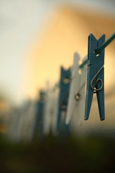 Free Clothes Peg Stock Images - 3231824