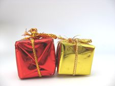 Free Christmas Parcels Royalty Free Stock Photo - 3232135