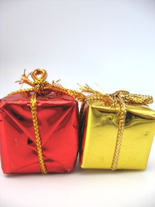 Free Christmas Parcels Royalty Free Stock Photos - 3232138