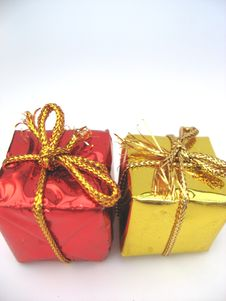 Free Christmas Parcels Stock Image - 3232141
