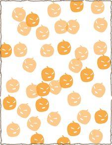 Free Pumpkin Page Royalty Free Stock Photos - 3232198