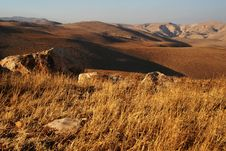 Free Jordanian Valley Royalty Free Stock Image - 3232456
