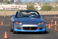 Free Honda 2000 Royalty Free Stock Photo - 3232995