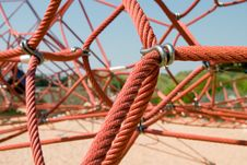 Red Rope Royalty Free Stock Images