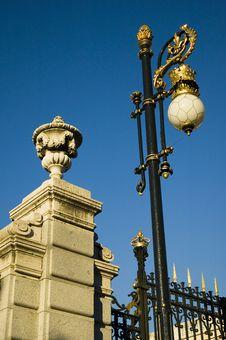 Free Royal Palace, Madrid Spain Stock Photography - 3233462