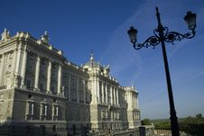 Free Royal Palace, Madrid Spain Stock Photo - 3233700