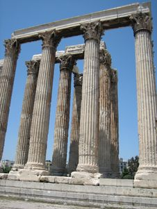 Free Temple Of Olympian Zeus Stock Images - 3234154