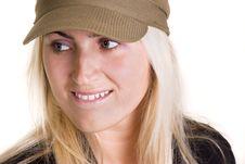 Free Blond Woman Stock Image - 3234291