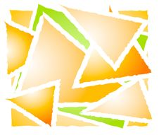 Free Overlapping Triangle Shapes Stock Photography - 3234352