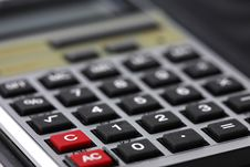 Free Calculator Royalty Free Stock Image - 3234426