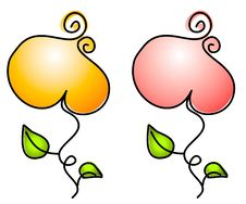 Flower Blossoms Clip Art Royalty Free Stock Photo