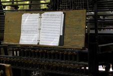 Free Music Sheets Royalty Free Stock Photos - 3234798
