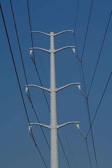 Free Power Lines Stock Photo - 3234840