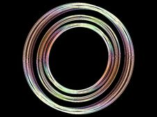 Free Abstract Colored Circles Background Royalty Free Stock Images - 3234859
