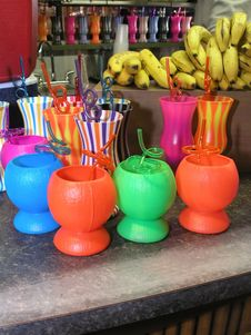 Free Carnival Drink Cups Stock Photo - 3235140