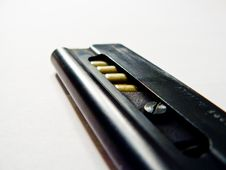 Free Clip For Handgun Royalty Free Stock Images - 3235739