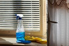 Free Cleaning Means Stock Photography - 3235792