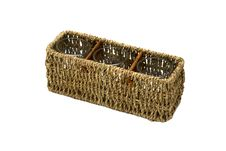 Free Wicker Box Isolated Stock Photography - 3236482