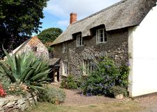 Thatched English Cottage Stock Images
