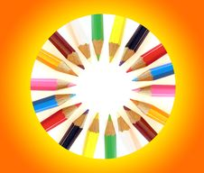 Free Color Pencils Royalty Free Stock Photo - 3236665