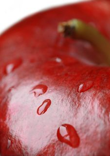 Free Red Apple. Stock Images - 3236974