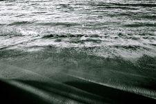 Free Shadows On The Beach Stock Image - 3237801