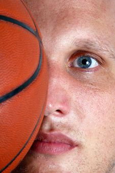 Free Basketball On My Mind Royalty Free Stock Photography - 3237897