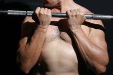 Free Man In The Gymnasium Stock Photo - 3237910