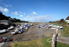 Free An English Seaside Beach Stock Image - 3237971