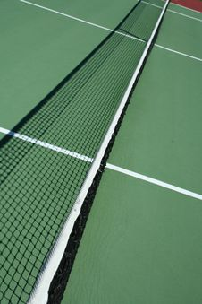 Free Tennis Court Net Royalty Free Stock Photo - 3238025