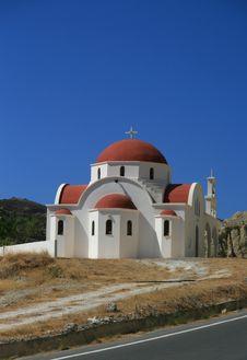 Free Greek Chapel Stock Photos - 3238123