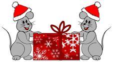Free Christmas Mice Stock Photos - 3239013
