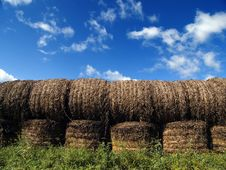 Free Hay Bales Stock Photos - 3239443